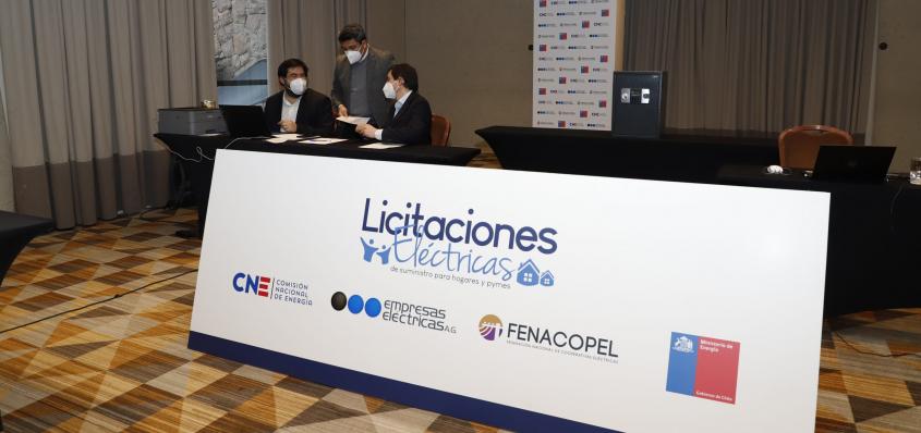 CNE da a conocer Precio de Reserva de Licitación Eléctrica 2021/01