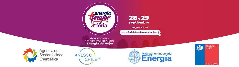(Español) 3° Feria Energía + Mujer 2021:  Adaptación y Transformación con Energía de Mujer